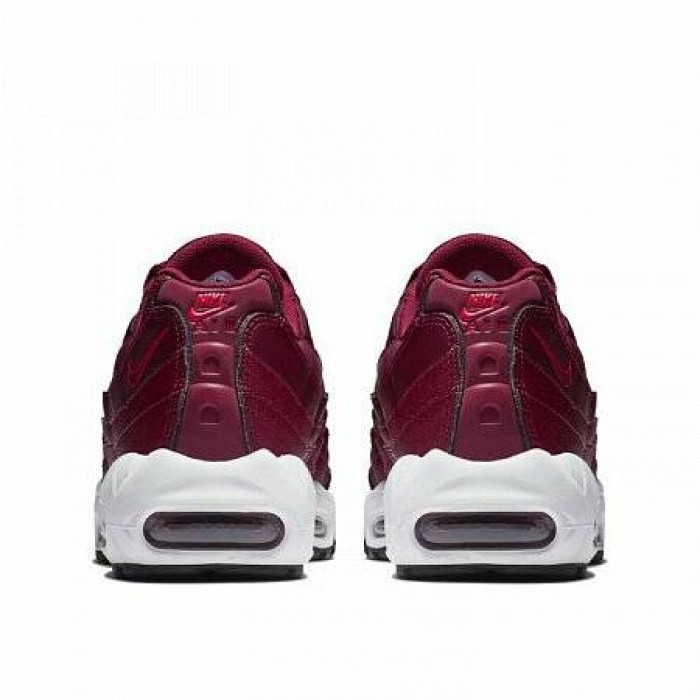 Кроссовки Nike AIR MAX 95 (Цвет Team Red-Team Red-Black)
