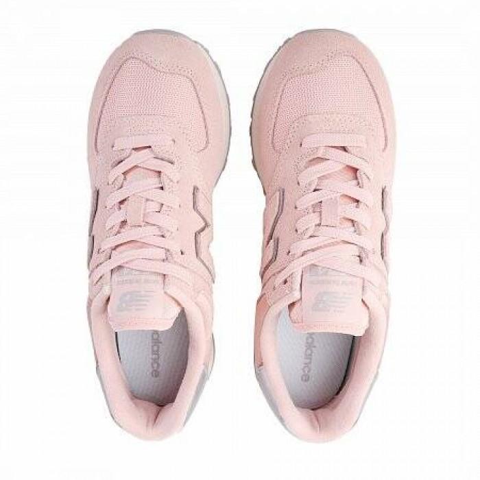Кроссовки New Balance 574 (Цвет Pink-Metall)
