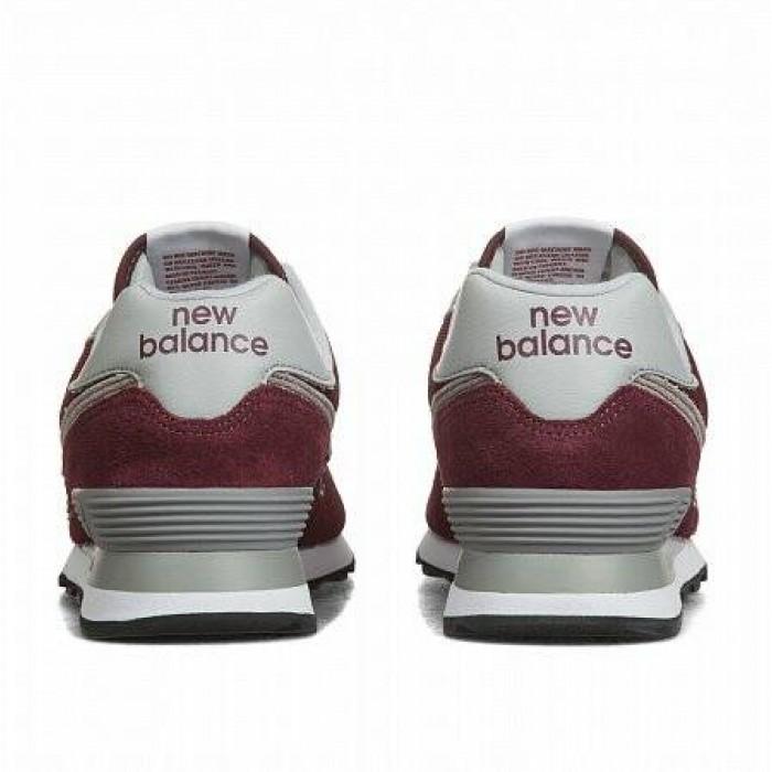 Кроссовки New Balance 574 (Цвет Burgundy)