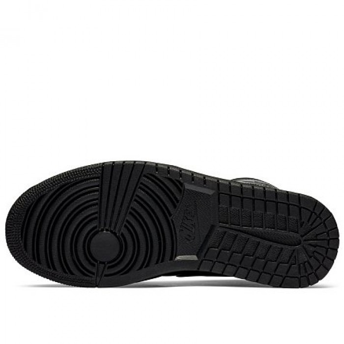 Кроссовки Jordan AIR JORDAN 1 MID (Цвет Black)
