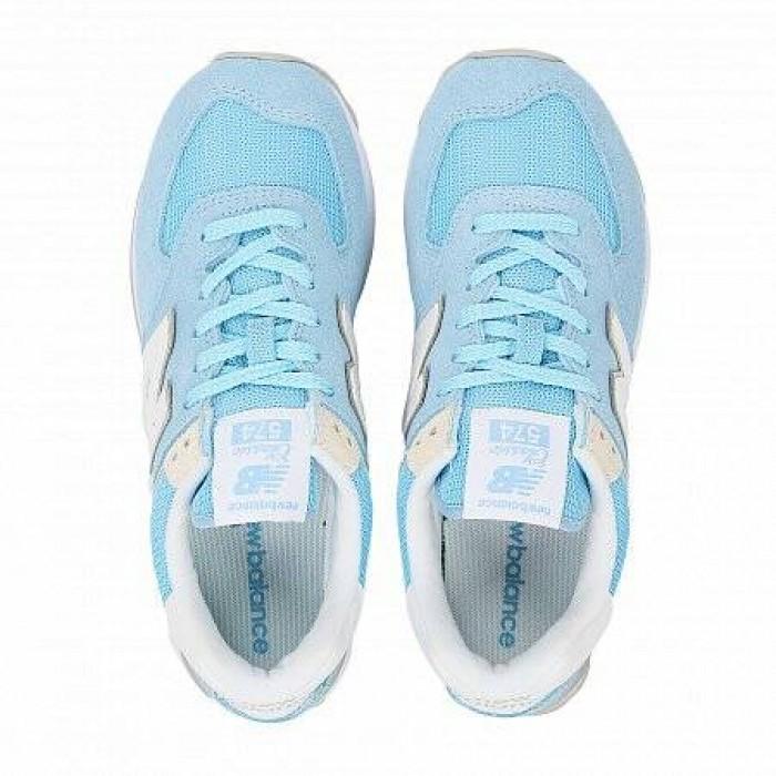 Кроссовки New Balance 574 (Цвет Blue-White)