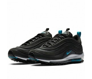 AIR MAX 97 (Цвет Black-Blue Fury-Dark Grey)