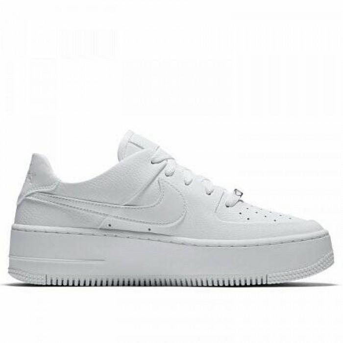 Кроссовки Nike AIR FORCE 1 SAGE LOW (Цвет White)