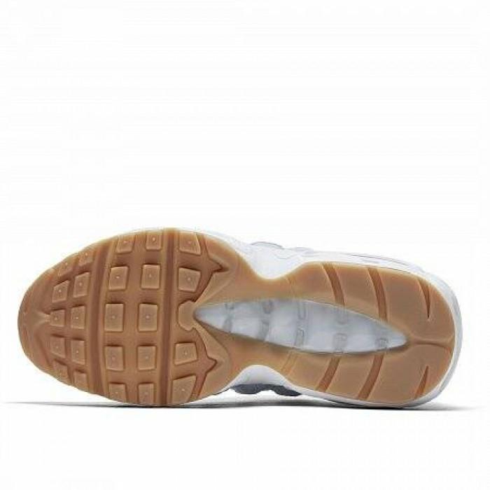 Кроссовки Nike AIR MAX 95 (Цвет Royal Tint-Pure Platinum-Gum Light Brown)