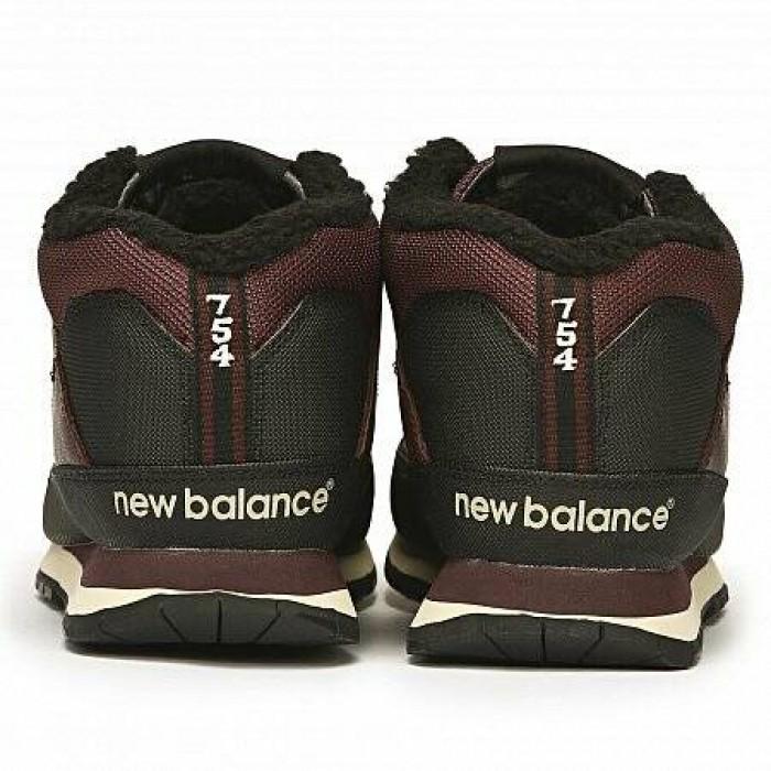 Кроссовки New Balance 754 (Цвет Burgundy)