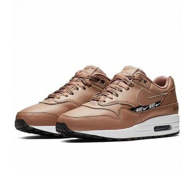 Кроссовки Nike AIR MAX 1 SE (Цвет Desert Dust-Black-White)
