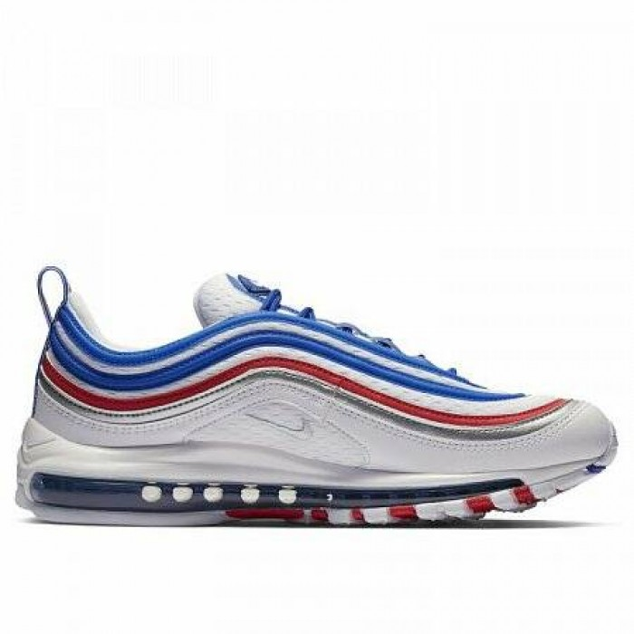 Кроссовки Nike AIR MAX 97 (Цвет Game Royal-Metallic Silver)