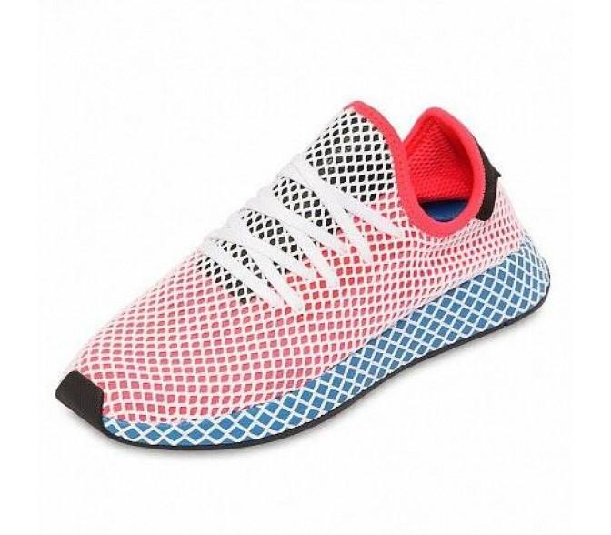 Кроссовки Adidas Originals DEERUPT RUNNER (Цвет Red-Blue-Black)