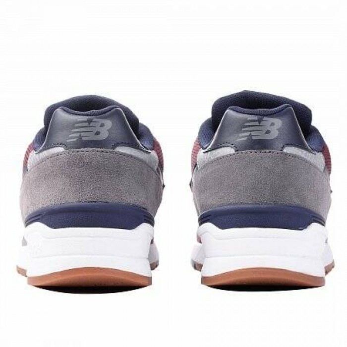 Кроссовки New Balance 597 (Цвет Blue-Red-Gray)