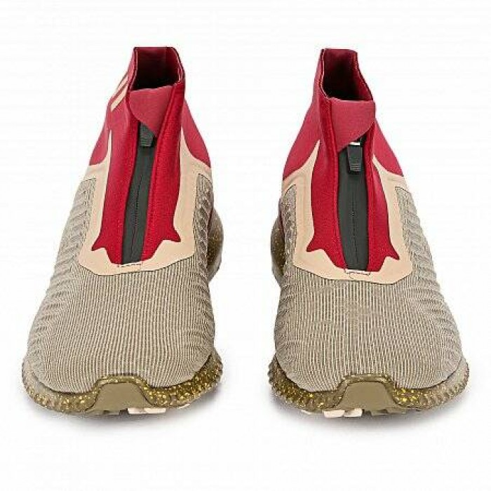 Кроссовки Adidas Performance ALPHABOUNCE ZIP M (Цвет Red-Beige-Gold)