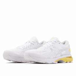 GEL KAYANO 25 (Цвет White-Lemon Spark)