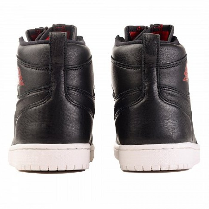 Кроссовки Jordan AIR JORDAN 1 HIGH ZIP PREMIUM (Цвет Black-Gym Red-Phantom)