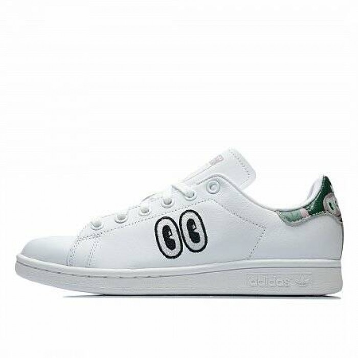 Кроссовки Adidas Originals HATTIE STEWART STAN SMITH (Цвет Ftwr White-Soft Vision-Core Black)