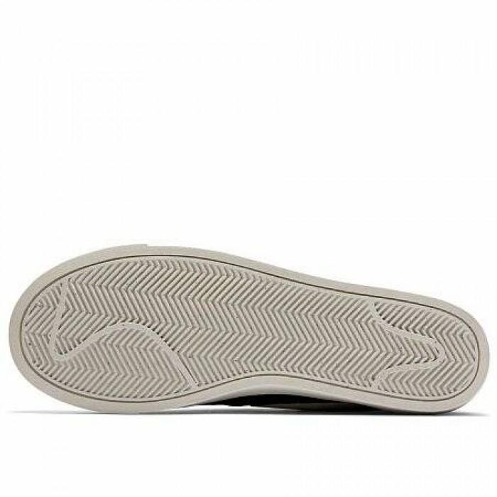 Кроссовки Nike BLAZER LOW SUEDE (Цвет Black-Sail-Sail)