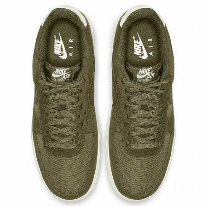 Кроссовки Nike AIR FORCE 1 '07 SUEDE (Цвет Medium Olive-Sail)