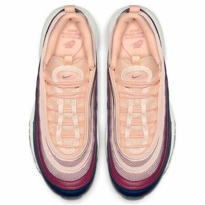 Кроссовки Nike AIR MAX 97 (Цвет Crimson Tint-Plum Chalk)