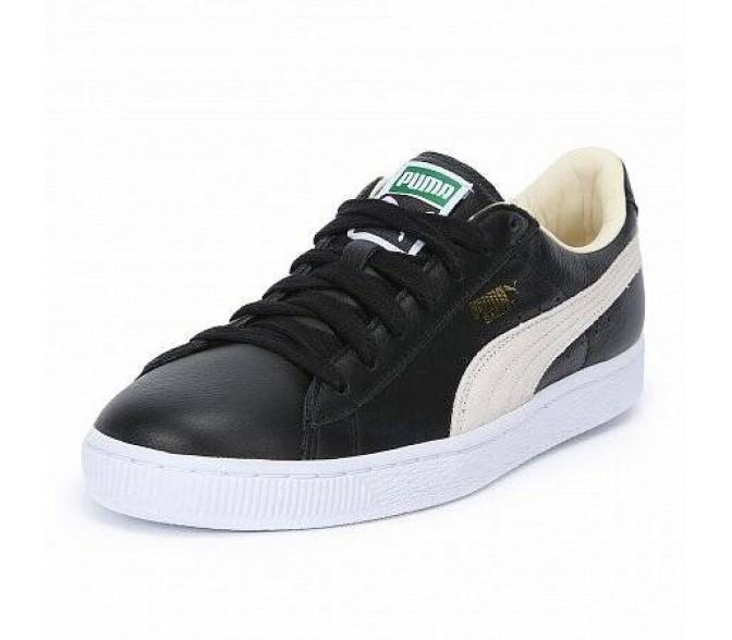 Кроссовки Puma BASKET CLASSIC (Цвет Black-White)