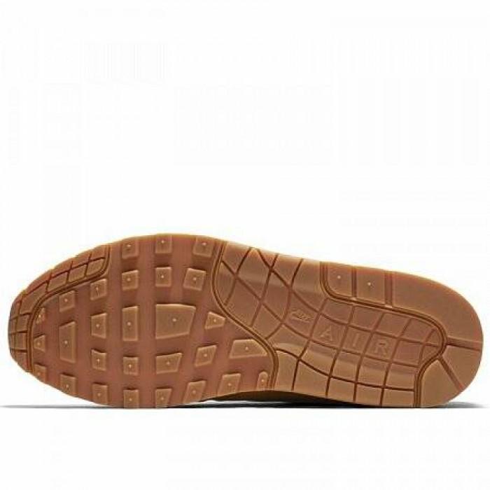 Кроссовки Nike AIR MAX 1 PREMIUM (Цвет Wheat-Light Bone-Gum Med Brown)