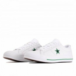 ONE STAR (ЦВЕТ WHITE/BLACK/CONVERSE GREEN)