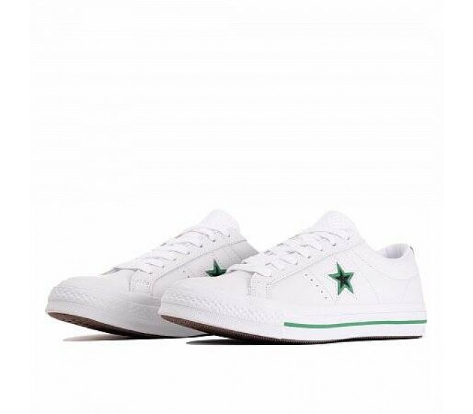 Кроссовки Converse ONE STAR (ЦВЕТ WHITE/BLACK/CONVERSE GREEN)