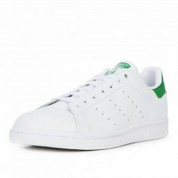 STAN SMITH LEATHER TRAINERS (Цвет White-Green)