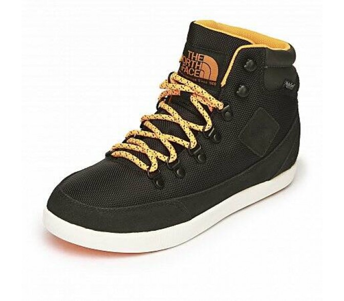 Кроссовки The North Face BASE CAMP BALLISTIC MID (Цвет Black-Yellow)