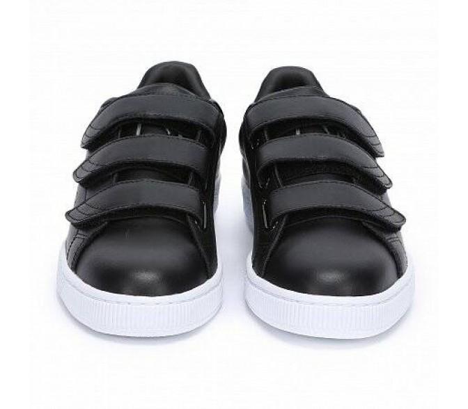 Кроссовки Puma BASKET CLASSIC STRAP (Цвет Black)