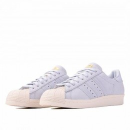 SUPERSTAR 80S (Цвет Aero Blue-Aero Blue-Off White)