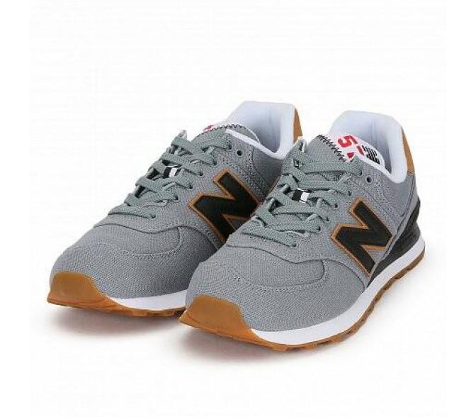 Кроссовки New Balance 574 (Цвет Grey-Black)