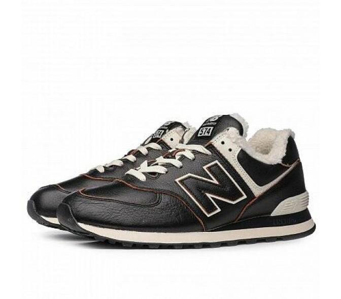 Кроссовки New Balance 574 (Цвет Brown-Milky)