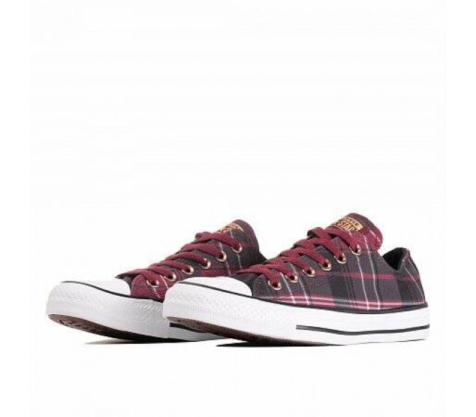 Кроссовки Converse CHUCK TAYLOR ALL STAR (Цвет  DARK BURGUNDY/BLACK/WHITE)