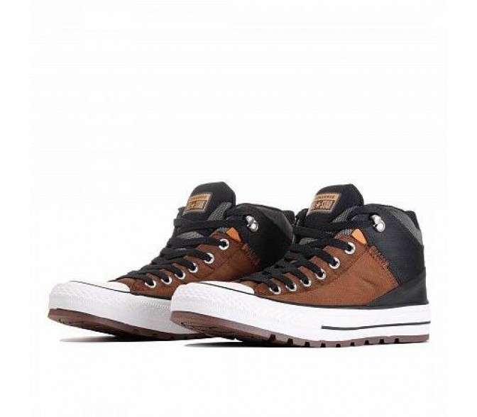 Кроссовки Converse CHUCK TAYLOR ALL STAR STREET BOOT (Цвет Chestnut Brown)